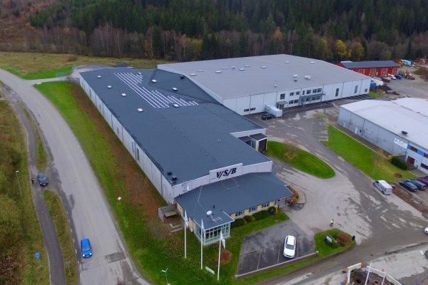 Solceller på Västsvensk Byggskruvs tak