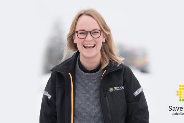 Bild framifrån på ny HR-chef Elisabeth Larsson