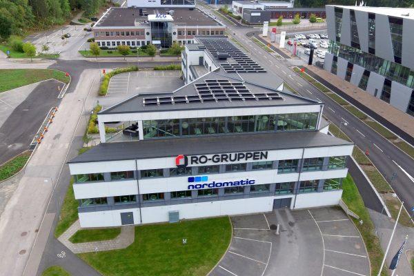 Nordomatic har låtit Save by Solar installera solceller på deras kontor i Borås.