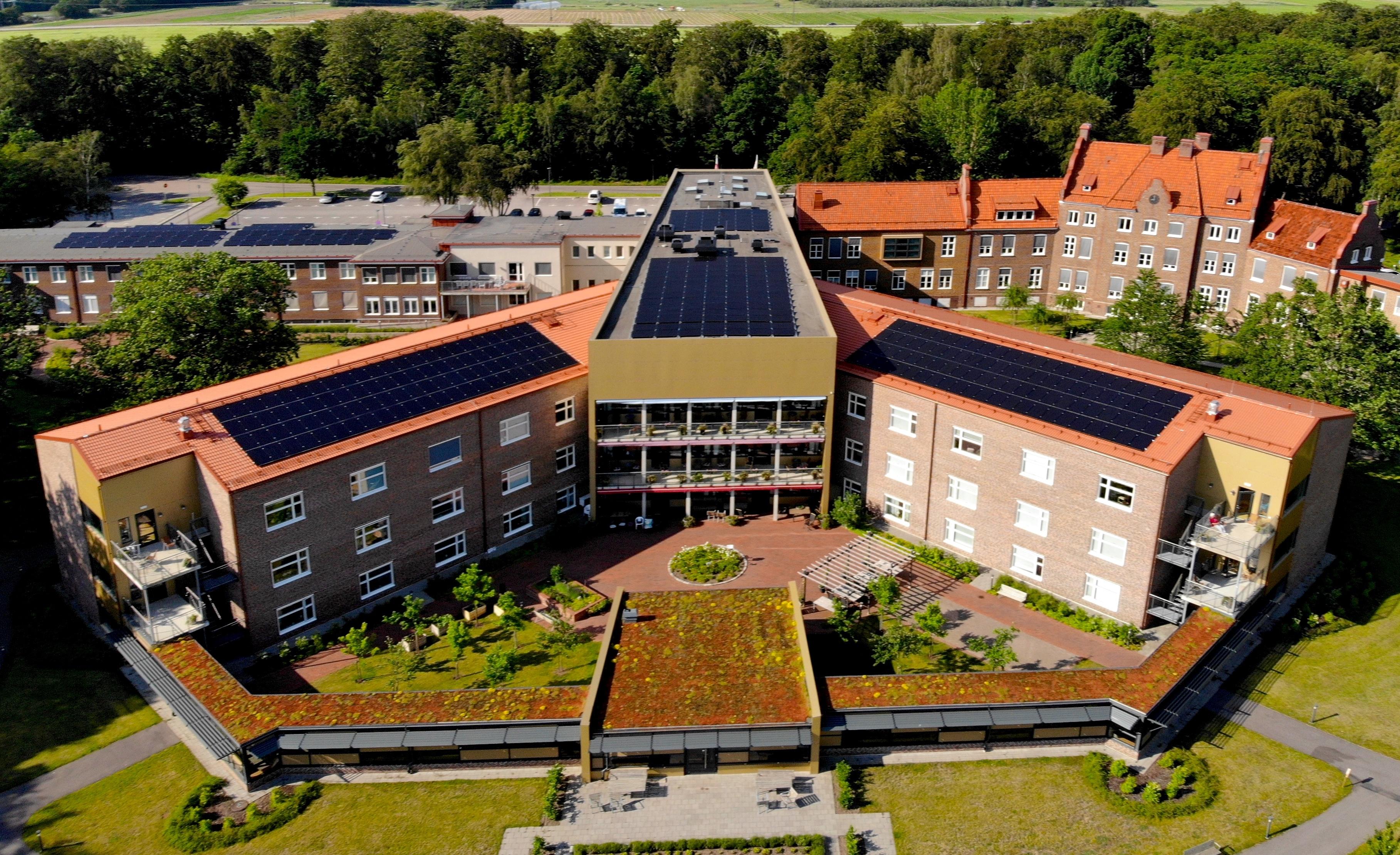 Save by Solar har installerat solceller i Helsingborg åt Helsingborgs Stad i deras projekt Solvision