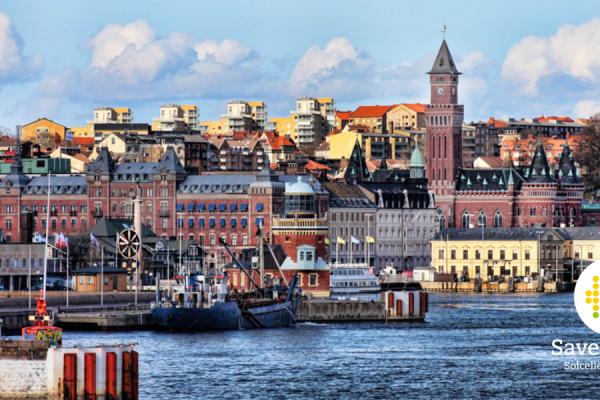 Save by Solar vinner en stor upphandling med uppdraget att installera solceller på omkring 20 stycken av Helsingborg Stads fastigheter