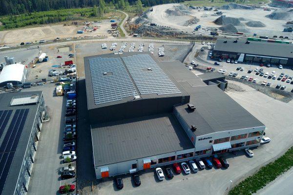 Save by Solar har installerat solceller åt fastighetsbolaget SVT Aapro i Haninge.