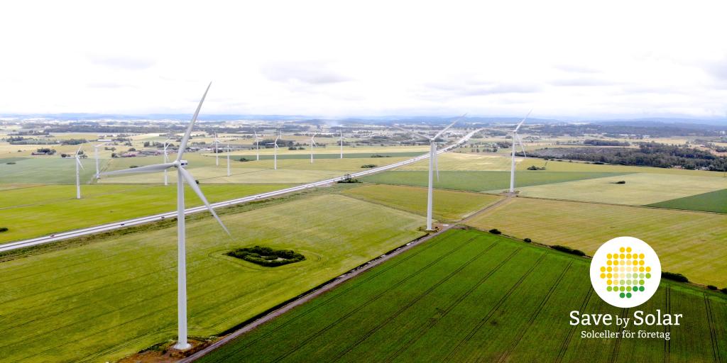Svensk vindkraft starkare än någonsin