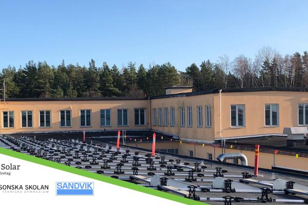 Sandvik och Save by Solar i samarbete om solceller
