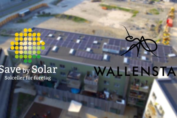 Wallenstam installerar solceller på 90 fastigheter